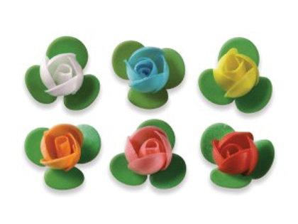 Floreal Roselline in Cialda colori assortiti scatola da 200 pz