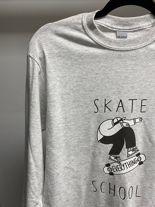 S.E.S Year 1 Adult Long-Sleeve B/W