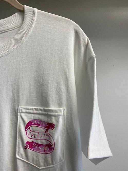 S.E.S White Pink Camo Logo