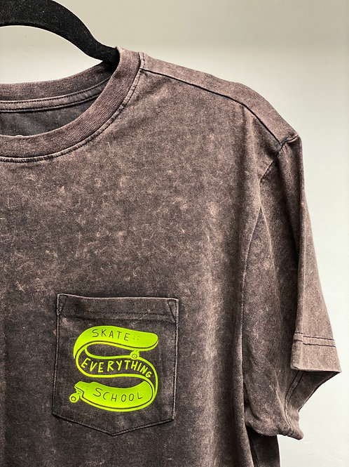 S.E.S Earth Tone Lime Logo