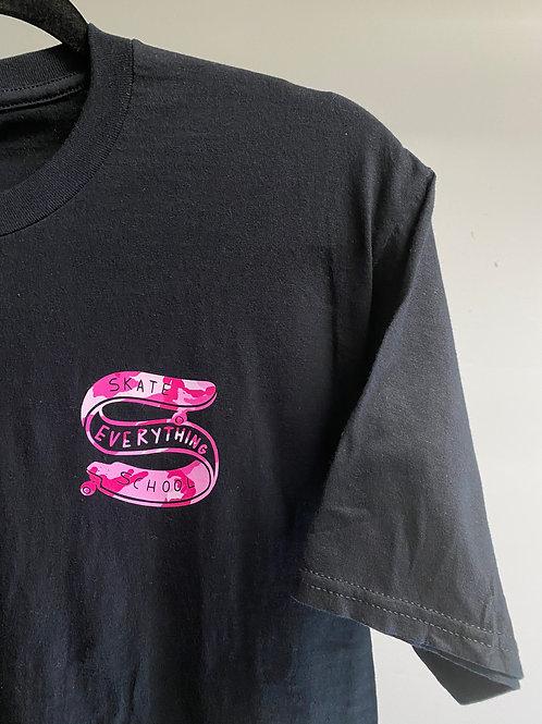 S.E.S Black Pink Camo Logo