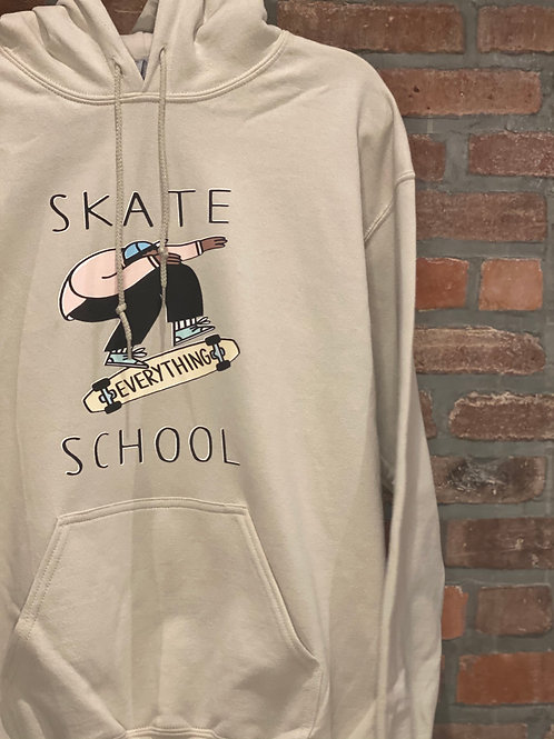 S.E.S Year 1 Adult Tan Hoodie