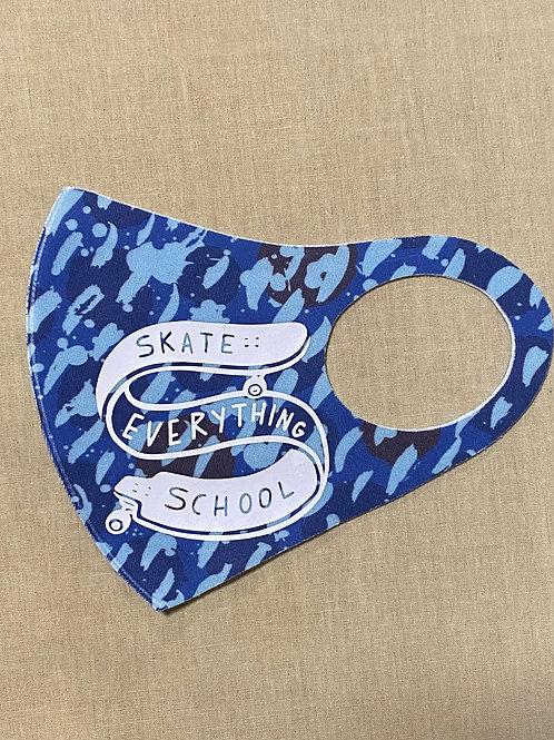 S.E.S Blue Camo Face Cover