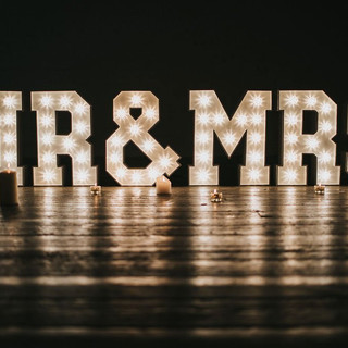 Mr. & Mrs. Signs