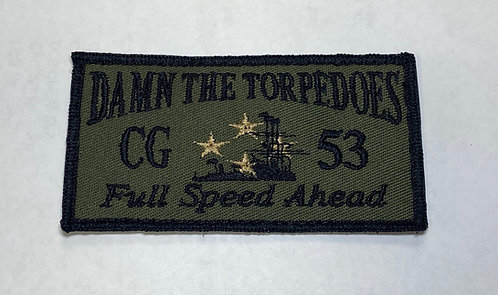 USS Mobile Bay Type III Shoulder Patch