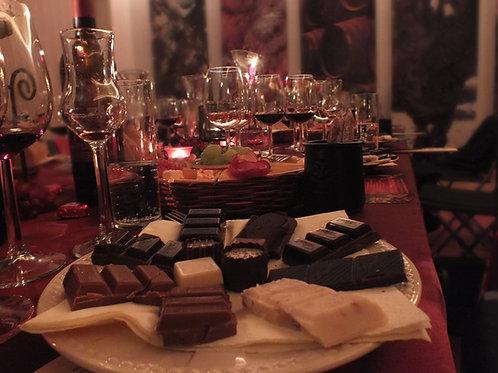 SÜSSE SÜNDE - Wein und Schokolade 30.04.2021
