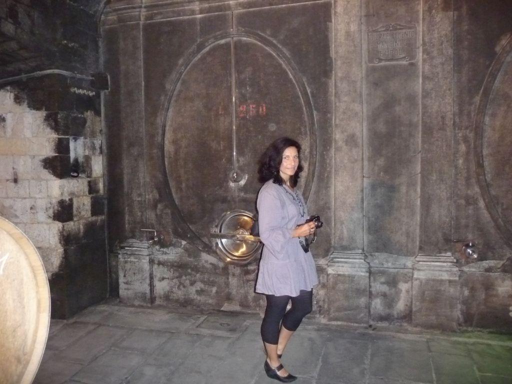 Monika Maywald auf Weinreise