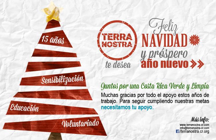 ¡Terra Nostra te desea una Feliz Navidad!