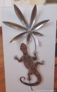 Leaf Lizard - Sold