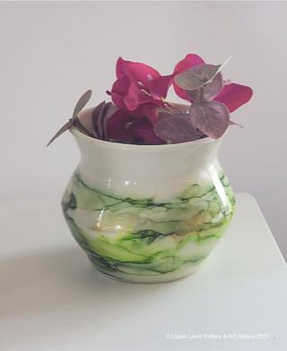 Green Vase - Sold