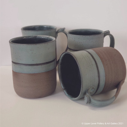 Blue Line Mugs - Sold