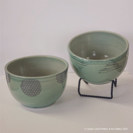 Green Bowls - Sold