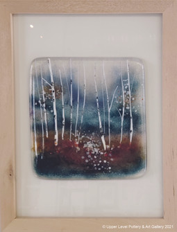 Birches In Fall - Sold
