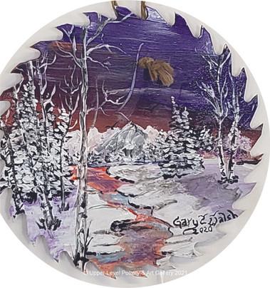 Winter Stream - Sold