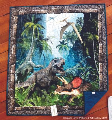 Jurassic Blanket
