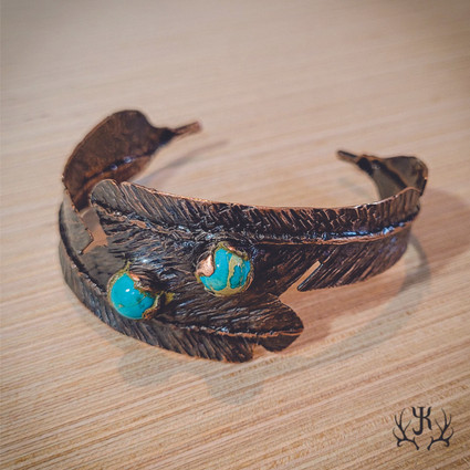 Double Feather Cuff