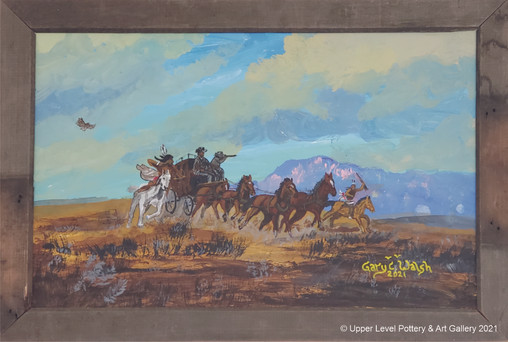 Horses & Wagon - Sold