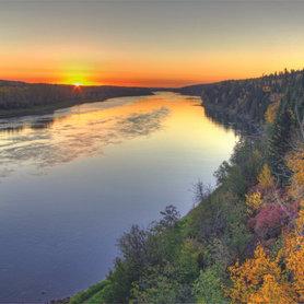 North Saskatchewan Sunrise