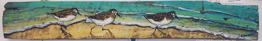 Sea Side Sand Cranes - sold