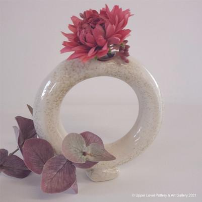 Donut Vase - Sold
