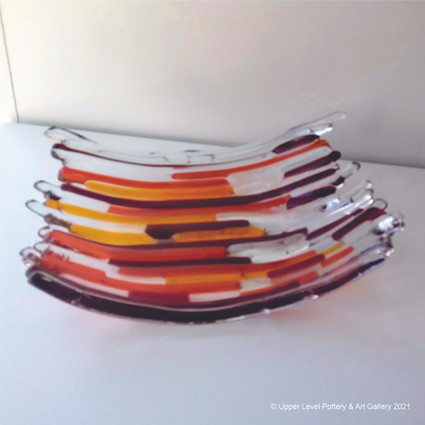 Red Stripe Plate