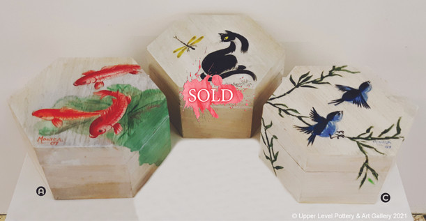 Wooden Boxes - Sold