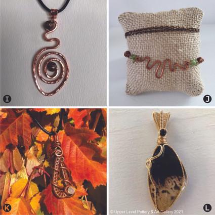 Necklace Pendants (J Sold)