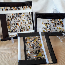 Fused Glass Plates