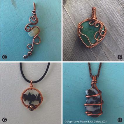 Necklace Pendants (E Sold)