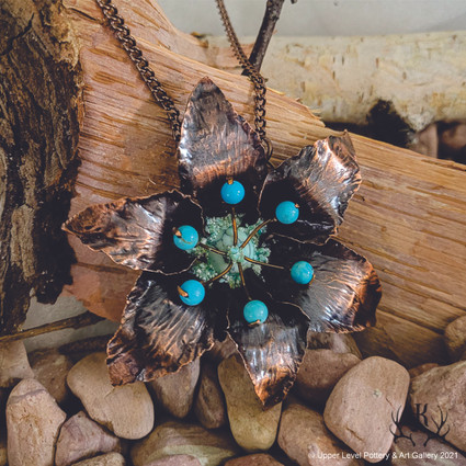Tiger Lily with Turquoise