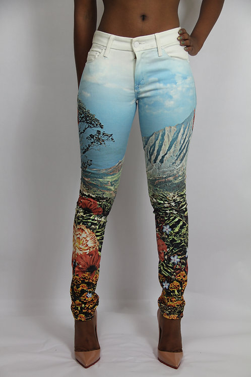SUMMERTIME 'MOTHER' JEANS
