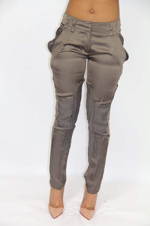 "DUSTY OLIVE ""FLYGIRL"" PANTS"