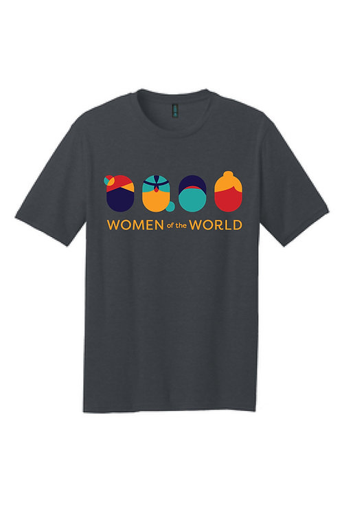 WoW Women's Crew-Neck T-Shirt [Front Logo Only]