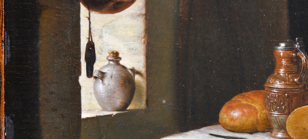 Detail from Frans Van Mires
