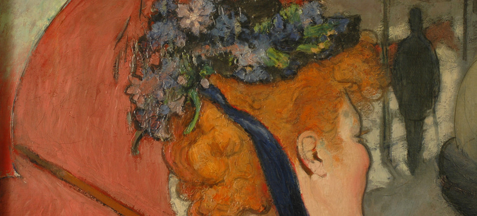 Detail from Louis Anquetin