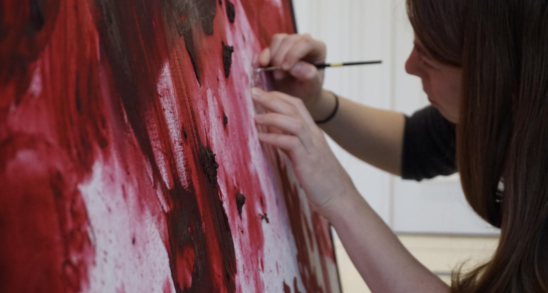 Conservation of paint impasto
