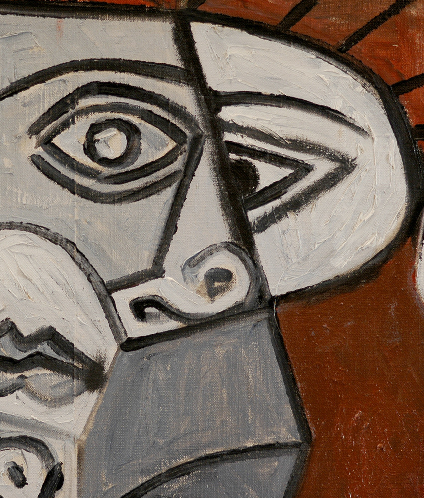 Detail from Pablo Picasso
