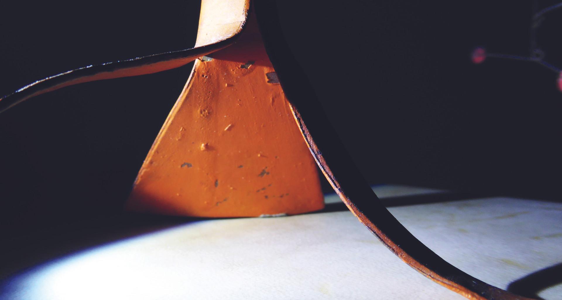 Painted sculpture by Alexander Calder