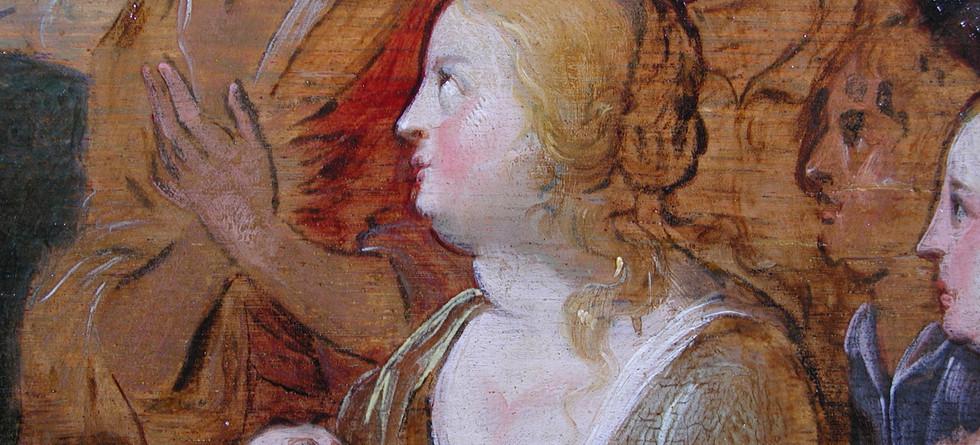 Detail from Peter Paul Rubens