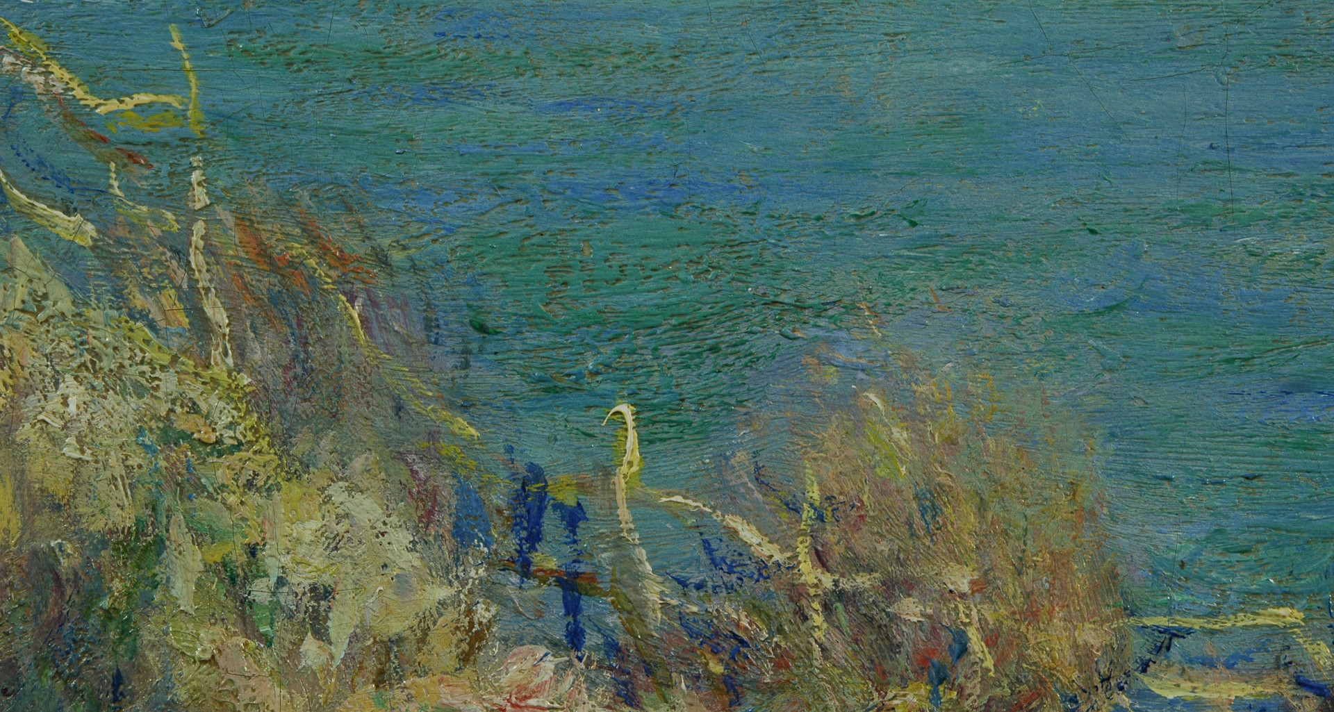 Detail from Claude Monet