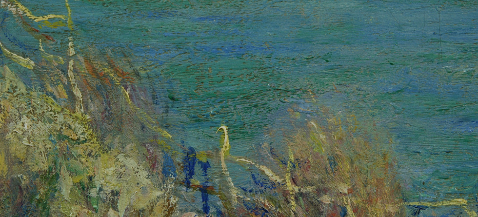 Detail from Claude Monet