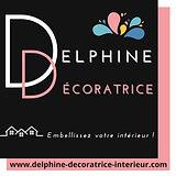 logo Delphine Décoratrice d'Intérieur.JP