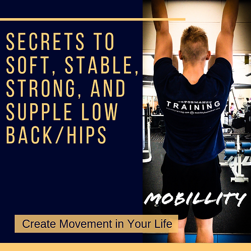 Secrets to Soft, Stable, Strong, and Supple Low Back/Hips