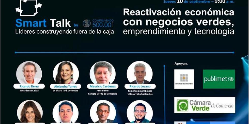 Reactivación económica con Negocios Verdes, Emprendimiento y Tecnología