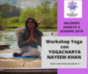 Workshop Yoga con NAYEEM KHAN YOGACHARYA