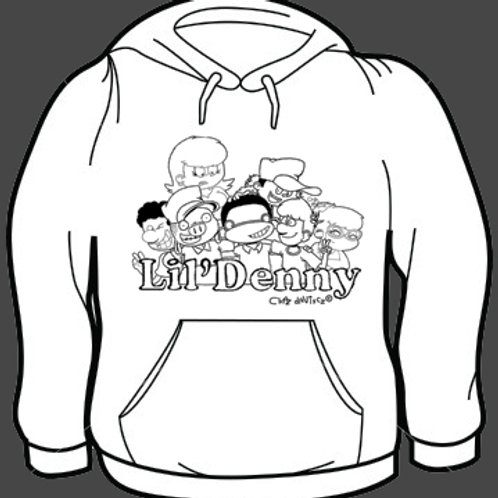 Lil' Denny and the gang model 2  sweatshirt