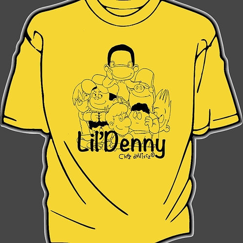 Lil' Denny and the gang youth Tshirt