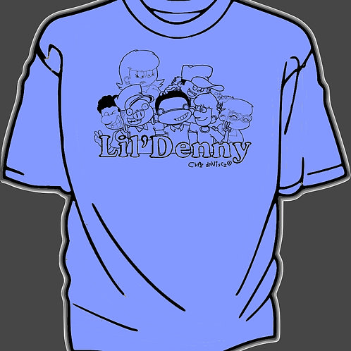 Lil' Denny and the gang model 2 youth Tshirt