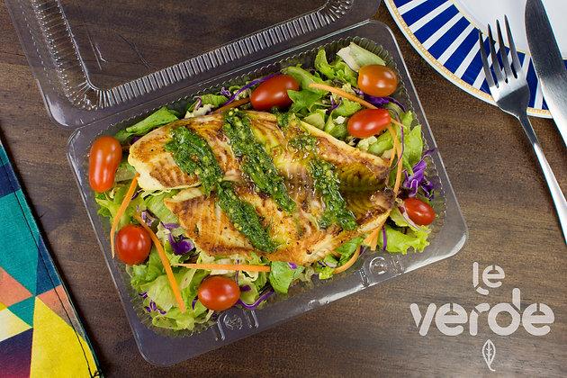 Salada Tilápia