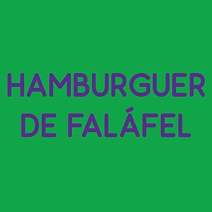Hambúrguer de Faláfel